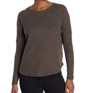 NWT Sweet Romeo Thermal Dolman Sleeve Shirt M